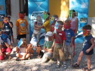 attivita didattiche con i piu piccoli a Miramare foto S Famiani