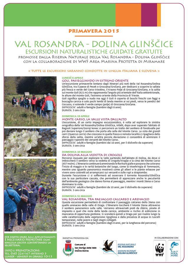 locandina escursioni valrosandra primavera2015