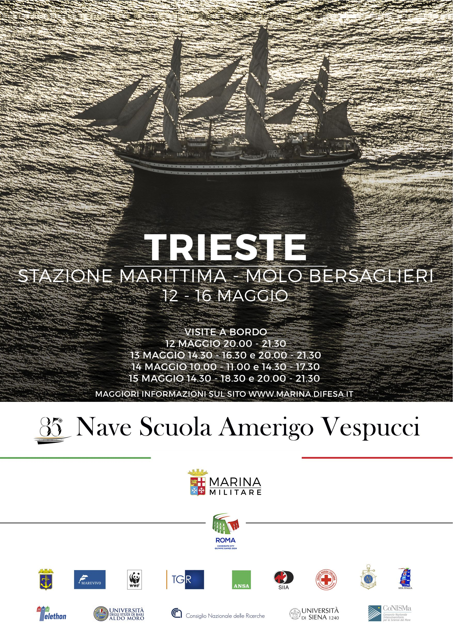 Vespucci locandina TRIESTE