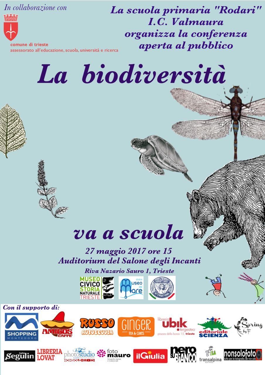 volantino biodiversita a scuola