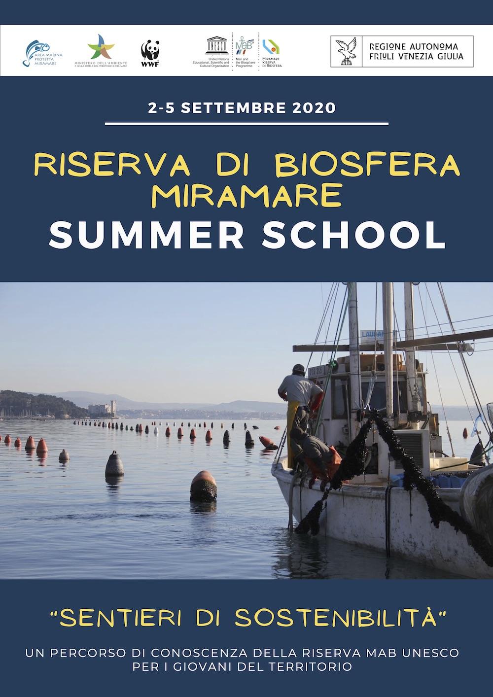 locandina SUMMER SCHOOL MAB UNESCO
