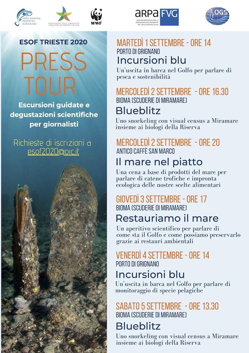 ESOF Press tour