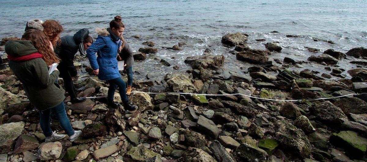 Trieste, 3 marzo 2016. Documentazione fotografica di attività per ragazzi, organizzata da Riserva Marina di Miramare. ph Massimo Goina